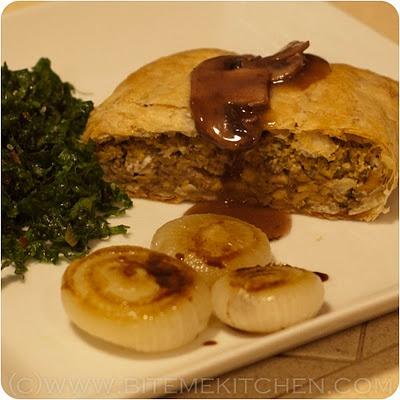 Vegan Wellington with mushroom gravy | Food for thought | Pinterest