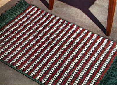 Crochet Doily Rug no Pinterest