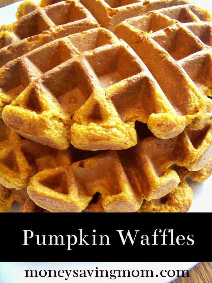Pumpkin Waffles... 1.18.13 Not quite as crisp as I like but these were ...