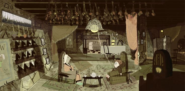 "Jon Klassen, ""Coraline"" visual development"