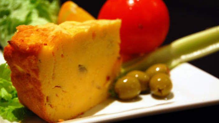 Sopa Paraguaya - cheesy cornbread from Paraguay