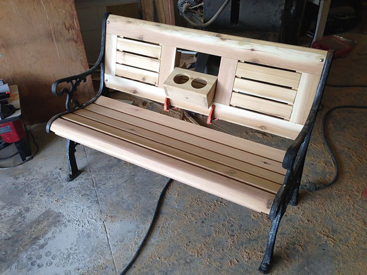 bench hide away - Google Search | Bench Ideas | Pinterest