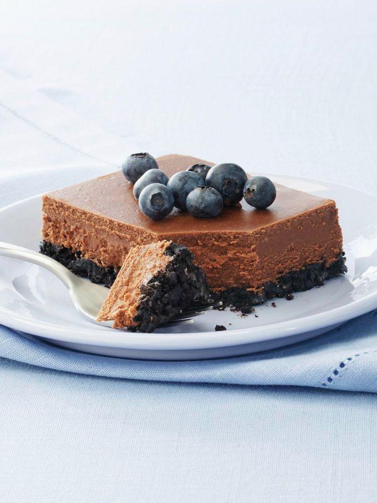 PHILADELPHIA Double-Chocolate Cheesecake — Double duty is what ...