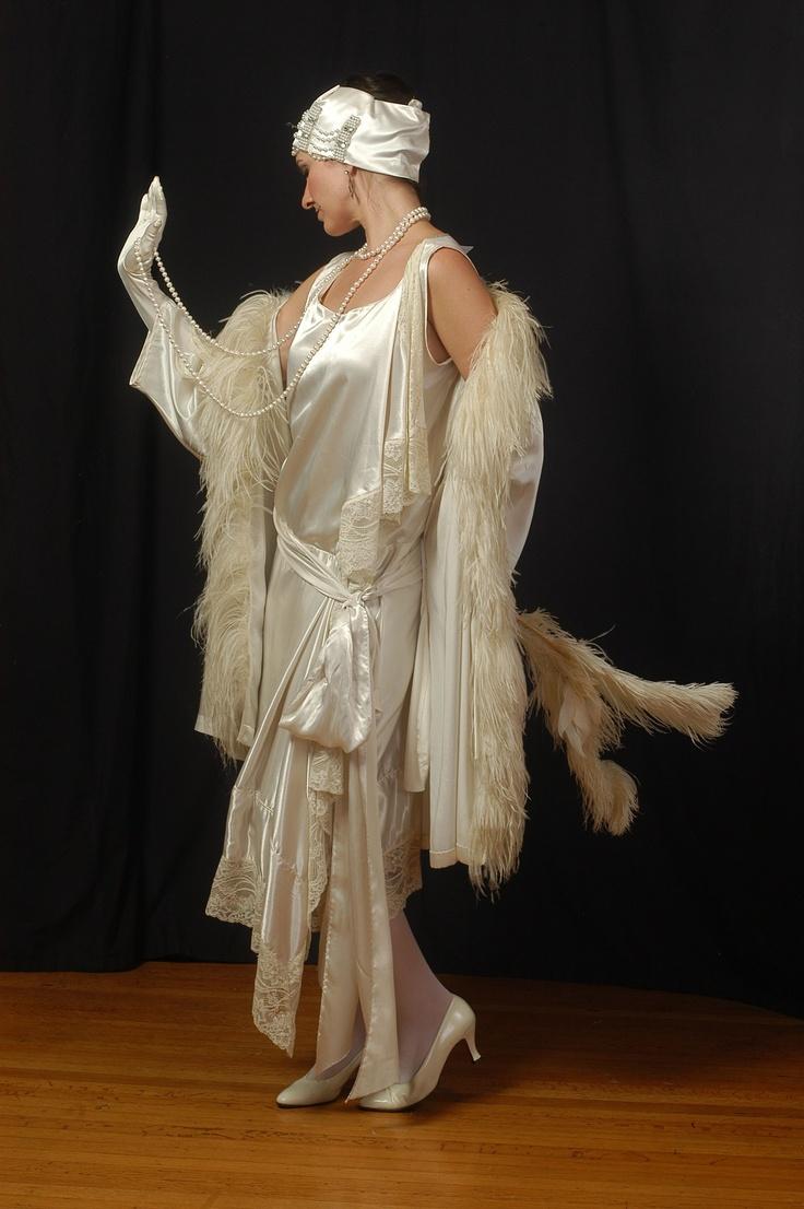 Fancy white dress #4 | Prohibition | Pinterest