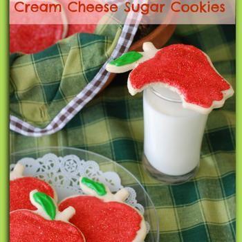 Cream Cheese Sugar Cookies | christmas | Pinterest