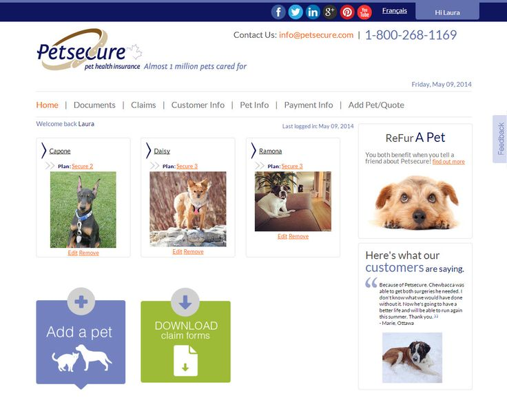 claim forms petsecure claim forms