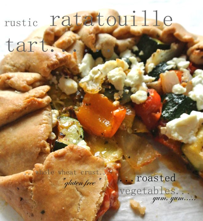 rustic ratatouille tart | (I-wish-it-were) My Style | Pinterest