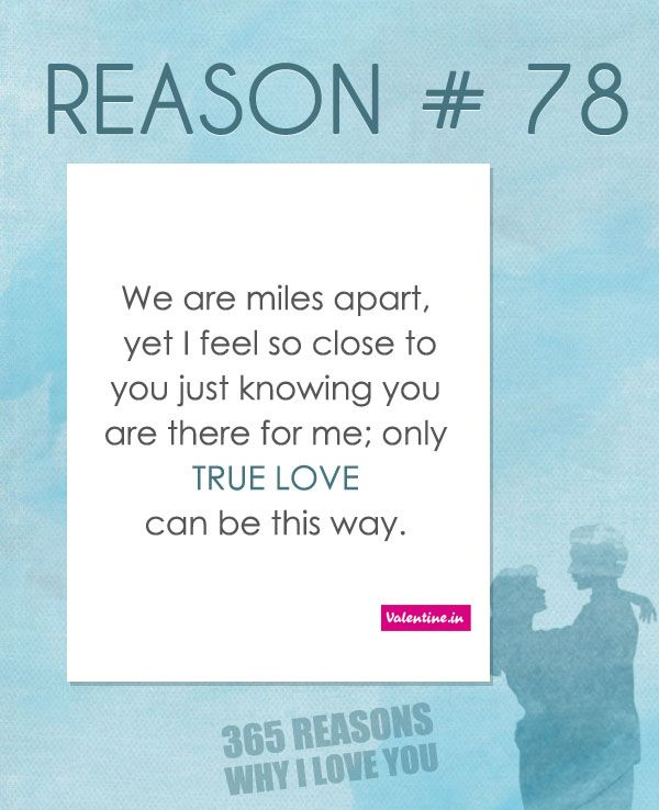 365 Reasons Why I Love You Quotes : Reason why I love you # 78 365 Love Quotes for Him Pinterest