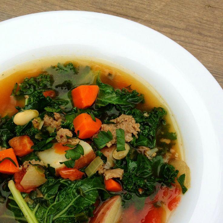 Sausage, Potato and Kale Soup | Recipe