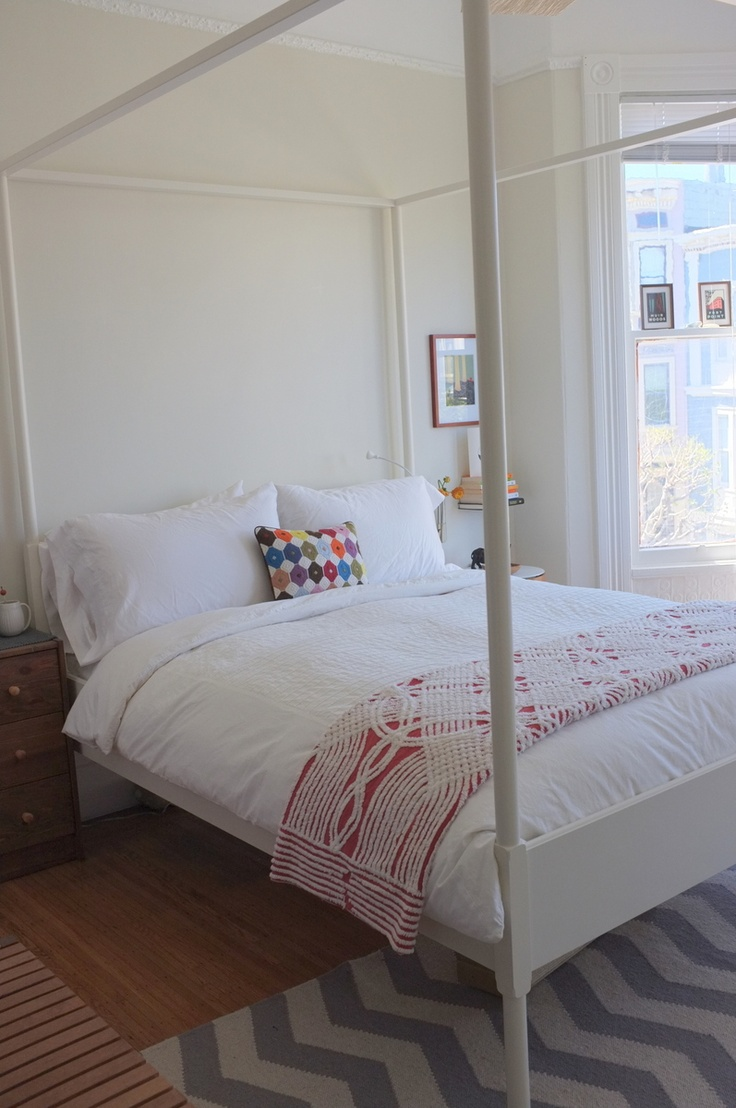 Hemnes ikea four poster bed for 4 bed