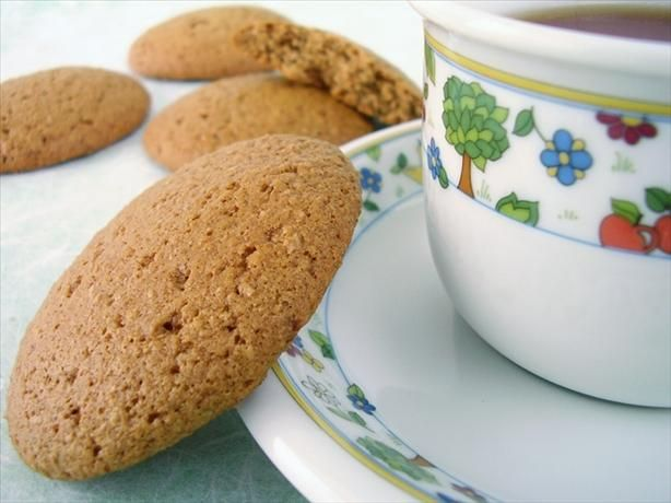 Giant Low Fat Ginger Cookies | Recipe