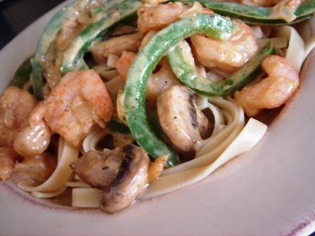 Cajun Shrimp Pasta with Cream Sauce | Entree Recipes | Pinterest