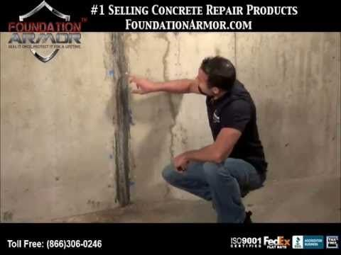 leaky basement repair youtube home improvement pinterest