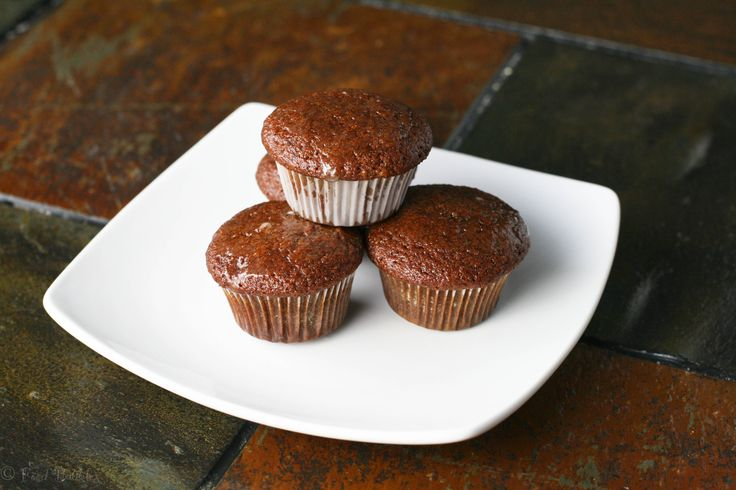 Gingerbread Mini-Muffins with Lemon Glaze