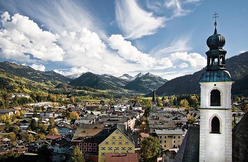 Kitzbuhel village, Austria