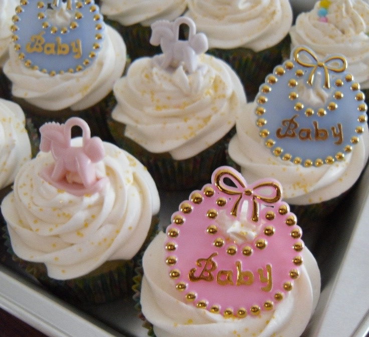 Baby Shower Cupcake Ideas Pinterest : Baby Shower Cupcakes My CupCake Creations Pinterest