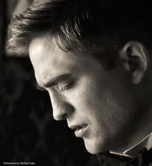 The man is stunning.