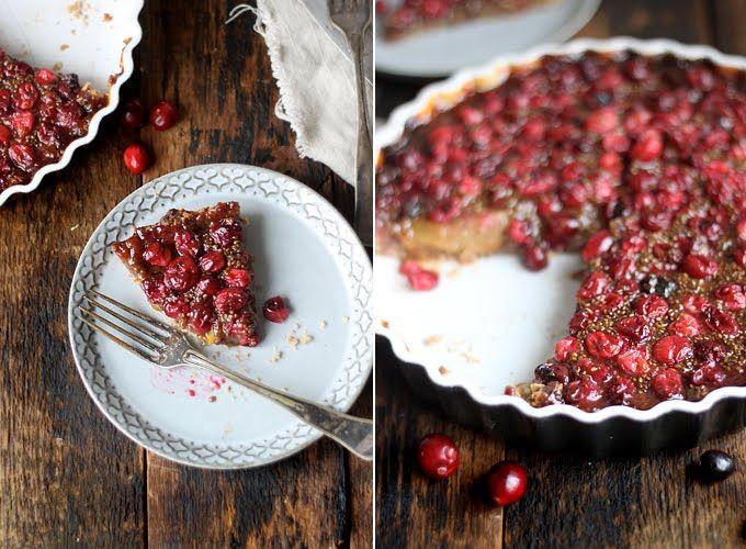 rustic tart rustic pear cranberry tart view rustic pear tart tart ...