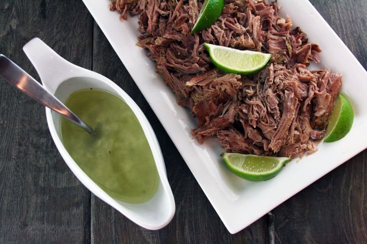CrockPot Cuban Pulled Port {Crockpot Lechon} with Mojito Sauce -- This ...