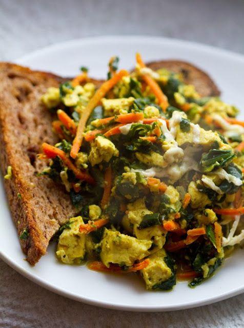 Tofu Scramble Recipe Test Kitchen! Vegan Classic. details on extra ...