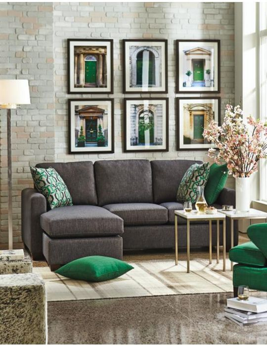 Andrea Sectional Sofa With Chaise Decorating Inside And