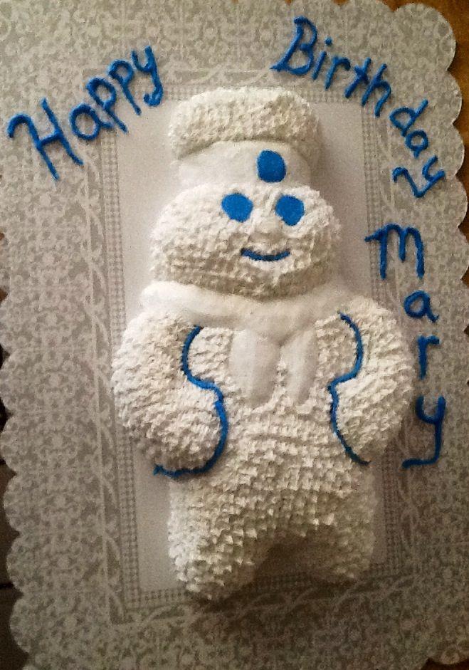 Pillsbury Doughboy Birthday Cake