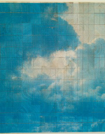 inspiration for a cloud painting for our bedroom