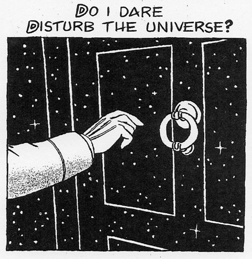 do i dare disturb the universe essay
