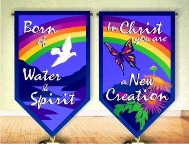 church flag banners