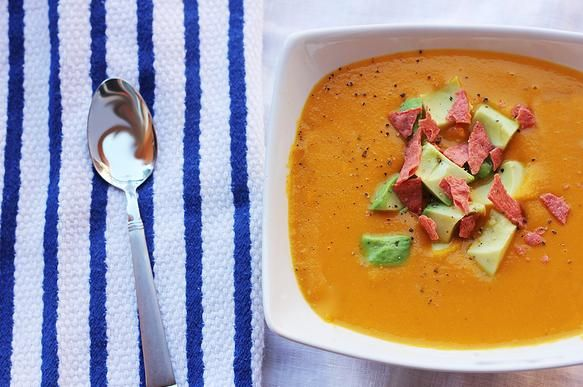 Sweet Potato Chipotle Soup | Food | Pinterest