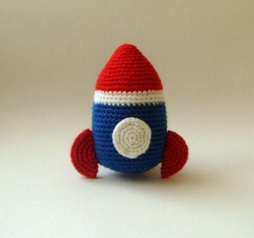 nursery plush Rocket