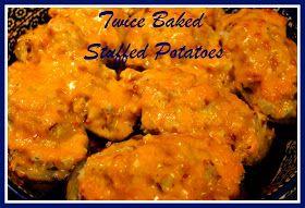 Twiced Baked Stuffed Potatoes! | Home Meals | Pinterest