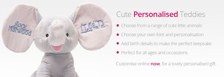 personalised teddies for valentines day