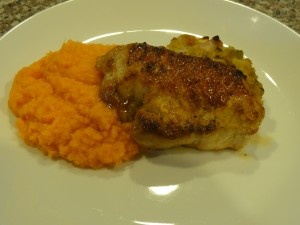 stuffed pork chops (with cornbread stuffing with apples and ...