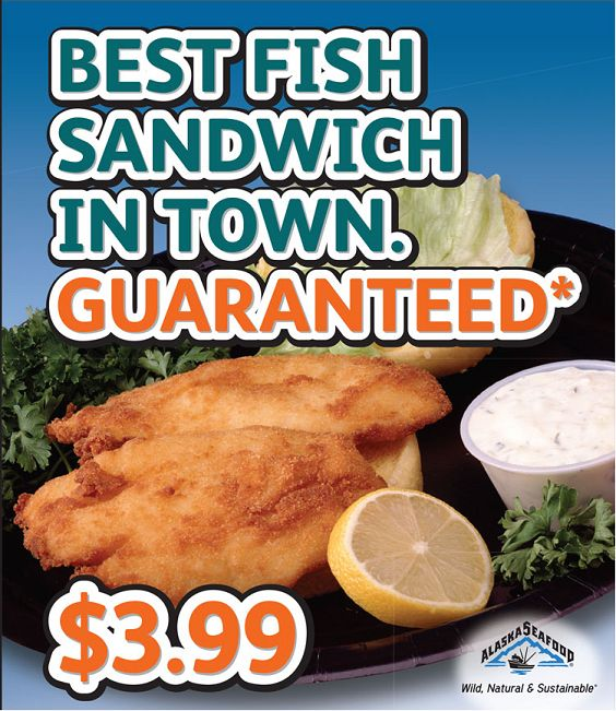 Best fish sandwich in town for Who has the best fish sandwich