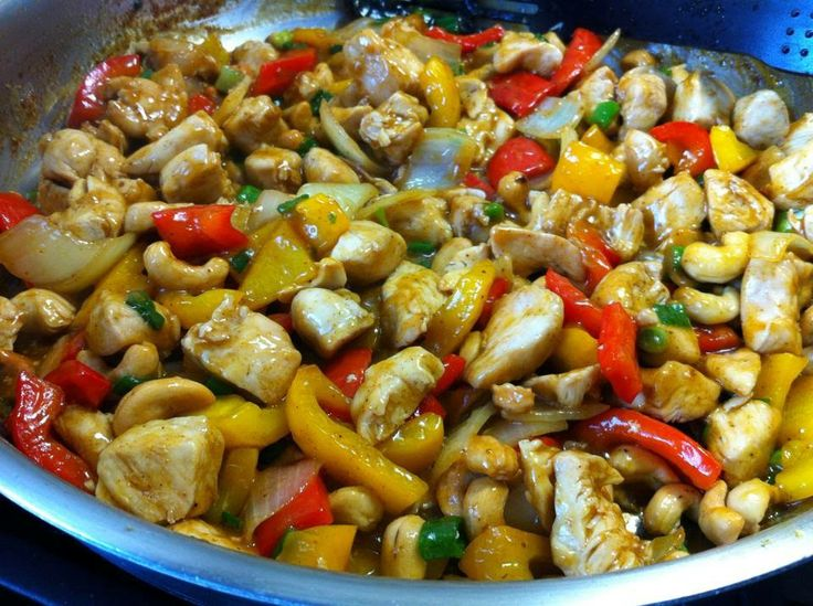 Always room for more.....: Sweet & Spicy Cashew Chicken