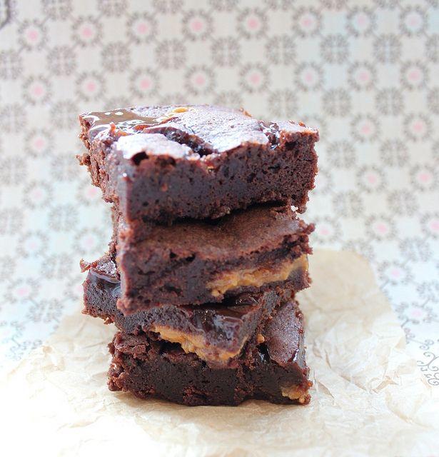 Dulce de Leche Brownies | Recipes | Pinterest