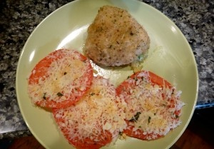chicken rollatini stuffed with zucchini and mozzarella paired with ...