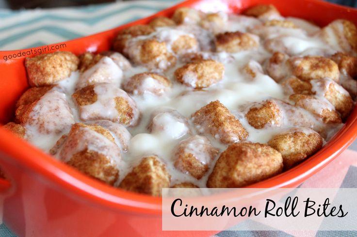 Cinnamon Roll Bites--goodeatsgirl.com | Recipes from Good Eats Girl ...