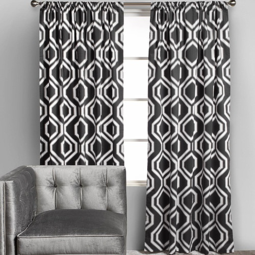 ... Panels - Grey - contemporary - curtains - other metro - Z Gallerie