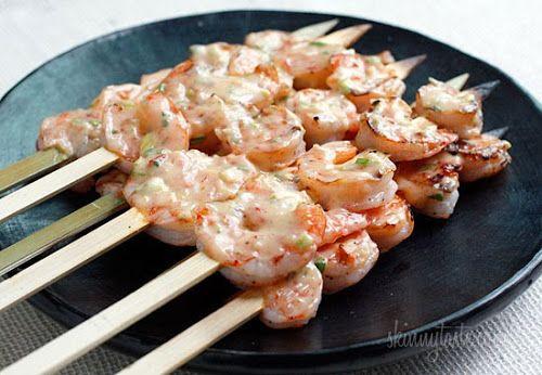 Bangin' Grilled Shrimp Skewers | Food is my friend