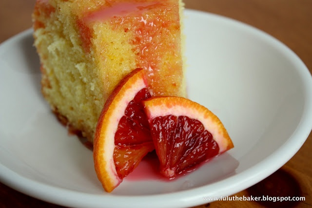 Lulu the Baker: Blood Orange Yogurt Cake | Ooh La La | Pinterest