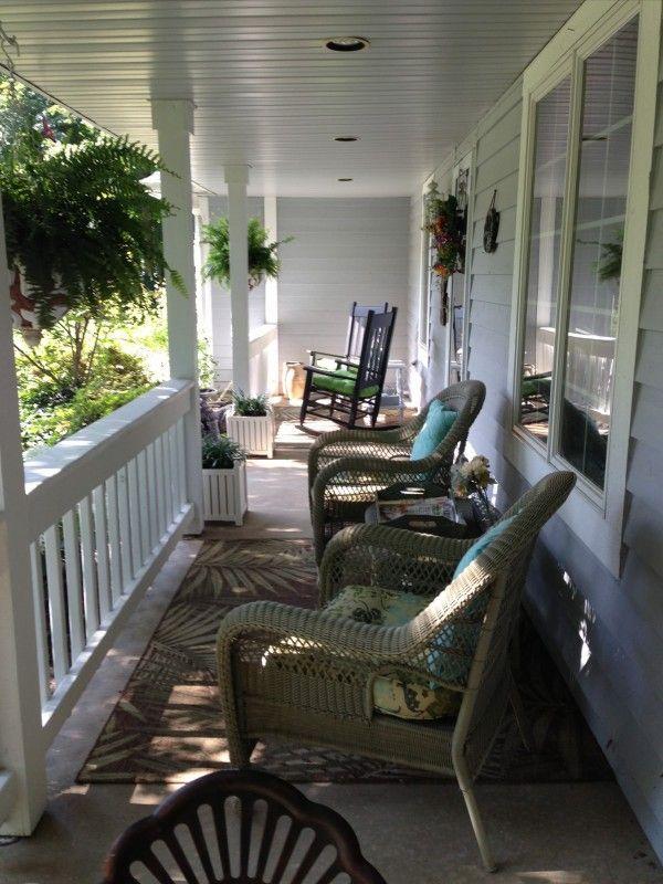 Ideas for porch decor | Front Porches | Pinterest
