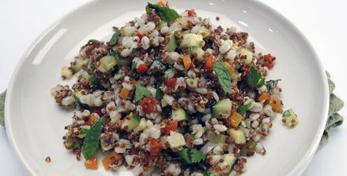 quinoa and barley salad | Favorite Recipes | Pinterest