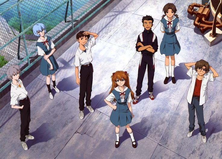 school uniforms ayanami rei neon genesis evangelion ikari shinji kaworu nagisa asuka langley soryu_www.wallpaperhi.com_89.jpg (800×577)