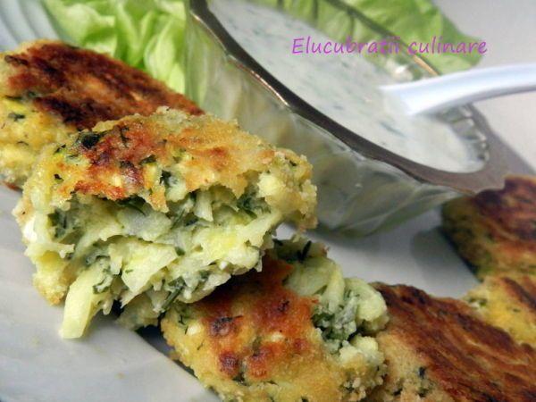 Rețetă Kolokythokeftedes - chifteluțe de zucchini și feta, de ...