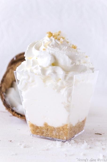 Coconut Mousse | FOOD | Pinterest