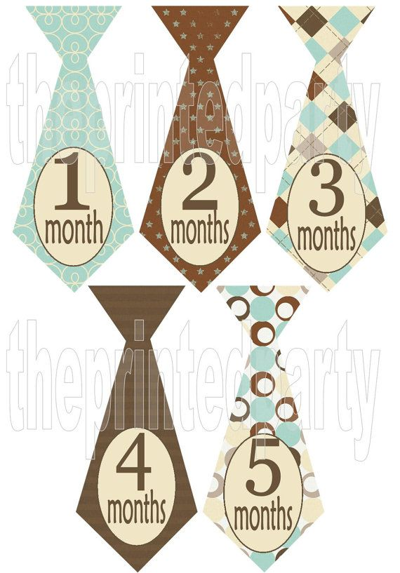 Monthly Onesie Stickers  Personalized Onesie by theprintedparty, $8.00