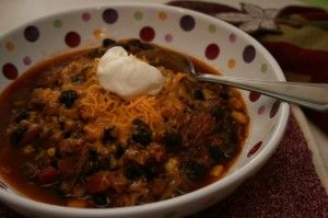 Black Beans & Beef Chili | Recipe
