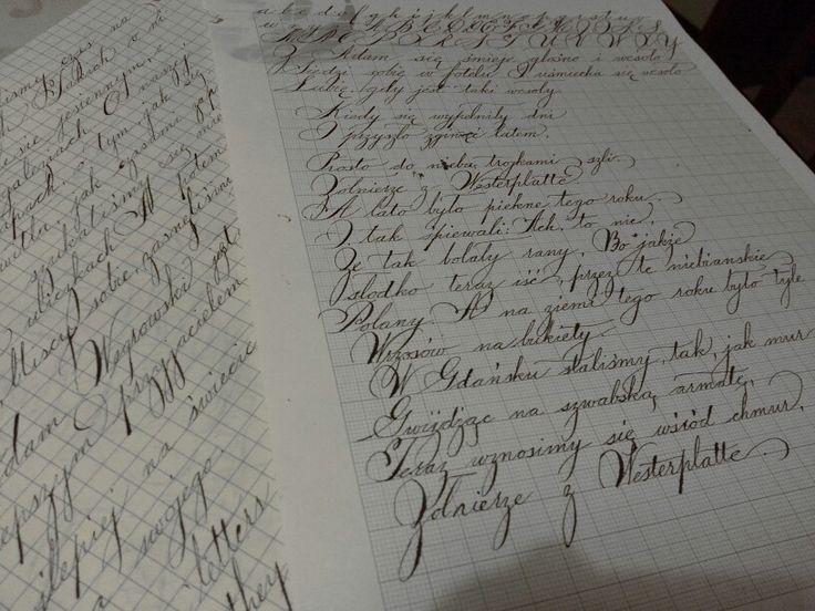 Spencerian Script Calligrafia Pinterest